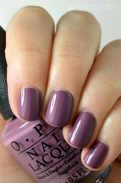opi nail polish OPI im feeling sashy opi nail poli . opi nail polish OPI Im Feeling Sashy opi nail polish Cute Nails, Pretty Nails, Uv Gel Nagellack, Opi Nail Colors, Winter Nail Colors, Cute Nail Colors, Gloss Matte, Manicure Y Pedicure, Purple Nails