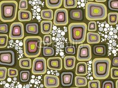 Wall Mural retro purple soft edge squares and dots - Photo Wallpaper • PIXERSIZE.com