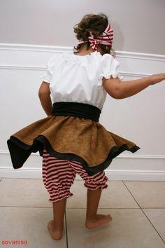 Girls can be pirates too! Pirate Dress Up, Costume Dress, Pirates, Ballet Skirt, Costumes, Sewing, Skirts, Inspiration, Dresses