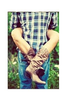 #country #boots #flannel
