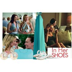 In Her Shoes Movie by nikita-rae on Polyvore featuring Azzaro, Forever 21, Tarina Tarantino and Luichiny