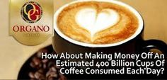 Learn How to Make Money From the Estimated 400 Billion Cups of Coffee Consumed Each Day I Love Coffee, Best Coffee, Coffee Drinks, Coffee Cups, Healthy Drinks, Feel Better, Latte, How To Make Money, Tableware