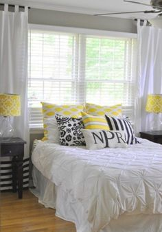 45 stylish Ideas Bedroom Design Sunny Yellow