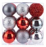 Holiday Collections Red Nordic Ball Ornament Set, Assorted, 27-pk | Canadian Tire
