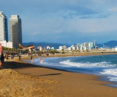 Barceloneta Beach Barcelona http://www.aluxurytravelblog.com/2016/05/16/a-romantic-city-break-in-barcelona/