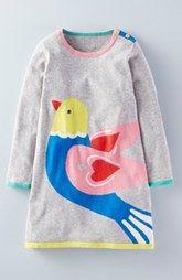 Mini Boden 'Fun' Knit Dress (Toddler Girls, Little Girls & Big Girls)