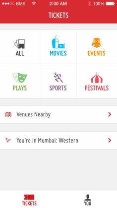 BookMyShow-Movie event play tickets
