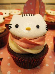 Dear Daniel Neopolitan Cupcake~