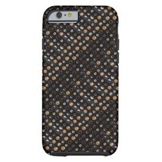 Woven Style Faux Studded Leather IPhone 6 Case