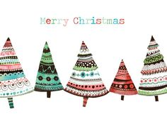 Felicity French -Christmas trees