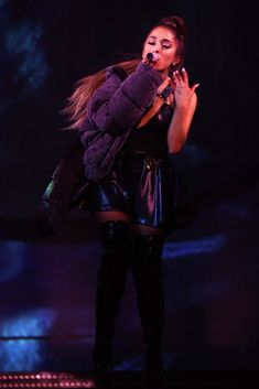 Ariana Grande performs onstage during the Sweetener World Tour - Opening Night at Times Union Center on March 2019 in Albany, New York. Get premium, high resolution news photos at Getty Images Ariana Grande 壁紙, Ariana Tour, Ariana Grande Pictures, Celebrity Baby Pictures, Celebrity Babies, Bae, Ariana Grande Sweetener, Ariana Grande Wallpaper, New York