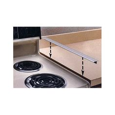 "Space Eraser Stove Counter Gap Cover  Love, love, love this! Some of my clients have older appliances so the space between stove and counter is very noticeable. Lots of ""food"" can drop down the gap and bring unwanted pest."