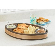 Chip & Dip Tray Woodworking Plan from WOOD Magazine