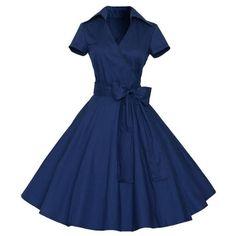 2017 Retro Audrey Hepburn Dress