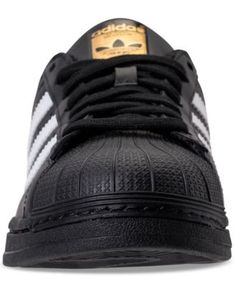 1f7a7da58 adidas Men s Superstar Casual Sneakers from Finish Line - BLACK WHITE BLACK  11.5 Basketball