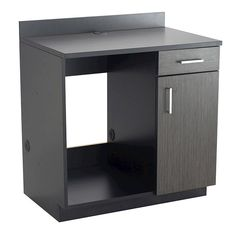 Hospitality Appliance Base Cabinet Black/Asian Night Melamine Cabinets, Laminate Cabinets, Laminate Countertops, Inside Cabinets, Base Cabinets, Office Furniture, Home Furniture, Cabinet Dimensions, Storage Compartments