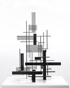 Sidney GordinConstruction #7Painted steel1954 via