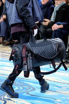 Louis Vuitton Fall 2014 Menswear Fashion Show Details Looks Style, My Style, Shopper, Christian Louboutin Shoes, Fashion Lookbook, Stylish Men, Louis Vuitton Handbags, Men's Shoes, What To Wear