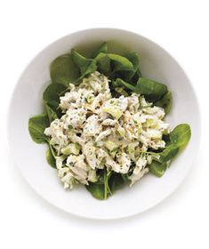 Tarragon Chicken Salad from realsimple.com #myplate #protein #vegetables