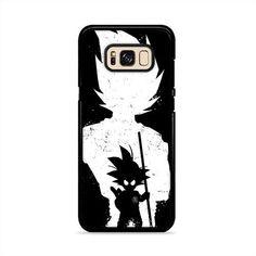 Goku Silhouette Samsung Galaxy S8 Plus Case | Caserisa