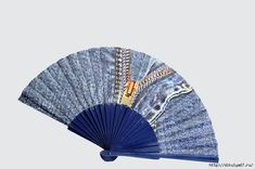 The inspiration for Fancy Hand Fans revealed itself one hot summer's day by Sharon Jerusalmy and her daughter Rachel. Hand Held Fan, Hand Fans, Fancy Hands, Denim Tote Bags, Jean Crafts, Old Jeans, Stay Cool, Shibori, Clothing Patterns