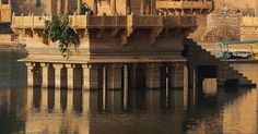 at Gadisar lake Morning at Gadisar lake Jaisalmer, Rajasthan, India. architectureMorning at Gadisar lake Jaisalmer, Rajasthan, India. Places Around The World, Travel Around The World, The Places Youll Go, Places To See, Around The Worlds, Jaisalmer, Udaipur, Taj Mahal, Varanasi