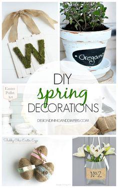 DIY Spring Decorations