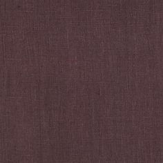 European 100% Washed Linen Plum from @fabricdotcom  This high quality medium weight Italian linen fabric is laundered making it much softer with nice body. Dry clean to retain body or wash to soften. Perfect for everything from drapes, pillows and duvets to pants, skirts, dresses and jackets. This fabric has 9,000 double rubs.