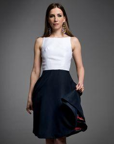 Silver Satin One Shoulder Dress