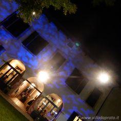 Villa da Prato, location per matrimoni - Giochi di luce in facciata