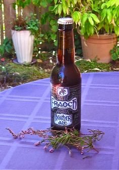 Heather ale has been brewed in Scotland for years. Diana Gabaldon Outlander Series, Plant Guide, Plant Information, Ale, Scotland, Inspired, Plants, Ale Beer, Plant