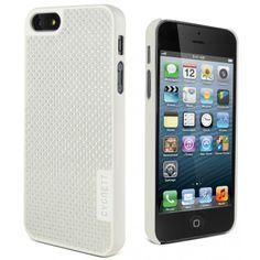 White Carbon Fiber UrbanShield UrbanShield white iPhone 5 + 5s
