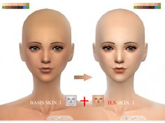 S-Club WMLL thesims4 BASSIS skintones I
