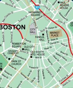 map of boston neighbirhoods Map of Boston neighborhoods United