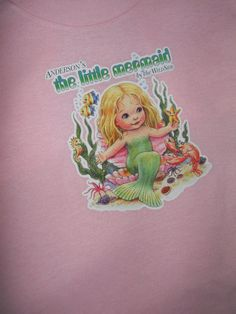Girls Little Mermaid Tshirt Customized To by EvangelinasCloset, $12.00