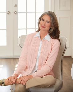 Shop National for our Classic Cardigan Sweater, a long-time customer favorite available in many different colors. Sweater Shop, Sweater Cardigan, Posture Bra, Shoes Without Socks, Warm Winter Hats, Lacy Bra, Lovely Eyes, Lounge Wear, Arm