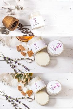 Made with sugar and coconut oil - makes your skin soft and smooth Body Scrub, Coconut Oil, Smooth, Place Card Holders, Sugar, Make It Yourself, Handmade, Products, Body Scrubs