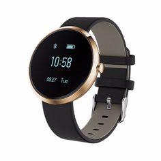 Waterproof Smart Watch & Fitness Tracker For iOS, Android
