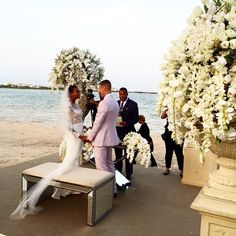 Dominican model Arlenis Sosa Pena to the list of summer 2015 brides. The Lancome face married basketball player Donnie McGrath in the Dominican Republic's Punta Cana while wearing a Reem Acra wedding dress. The guest list included some familiar faces with models such as Toni Garrn, Anais Mali, Eniko Mihalik and Lais Ribeiro in attendance.