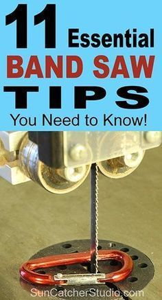 How to use a bandsaw. Including tips on band saw safety maintenance blade tension bearings throat plate and minimum cutting radius. Woodworking School, Learn Woodworking, Woodworking Skills, Woodworking Workbench, Popular Woodworking, Custom Woodworking, Woodworking Crafts, Woodworking Furniture, Woodworking Videos