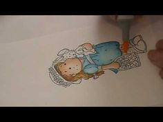Copic Tutorial--Coloring Skin - YouTube