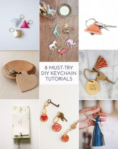 8 Must-Try Keychain DIYS
