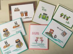 A Sweet variety of cards from Sweet Stamp Shop