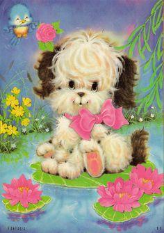 Fantasia 11 #papeldecarta #puppy #sweetness