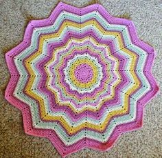 croche: star mat