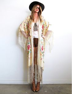 Love this kimono style jacket!! dreamin' the dream by GirlOnAVine on Etsy, $449.00