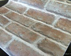 Natural Brick Vinyl Self Adhesive Peel-Stick Wallpaper no213