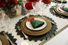 Ideia para mesa de Natal | Do Jeito H