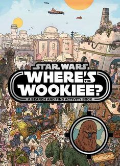 Chewbacca is on the run and only you can find him with the Star Wars Where's the Wookiee Search and Find Book.  Looks like Chewie got into a little trouble by hanging around with that trouble-maker, Han Solo, and now there's a bounty on the big guy's head. Imagine you're ou