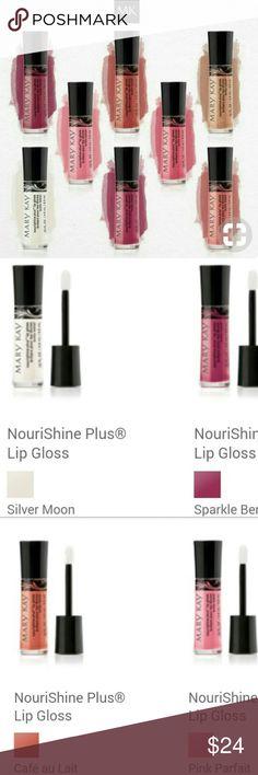 2 for $24 NouriShine Lipgloss-Mary Kay 2 for $24 NouriShine Lipgloss-Mary Kay Mary Kay Makeup
